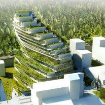 Green School Stockholm por 3xn