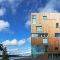Umea Art Museum por Henning Larsen Architects