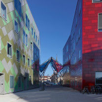 Artem University Hub por Anma