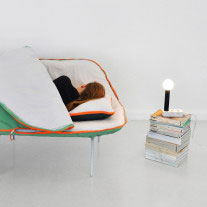 Camp Daybed por Stephanie Hornig