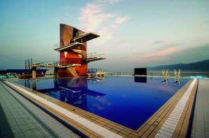 Torre del Centro Acuático de Rijeka por Studio Zoppini Associati