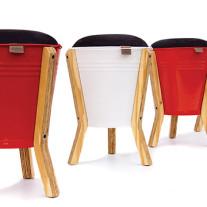 bucket stool por pedersen + lennard