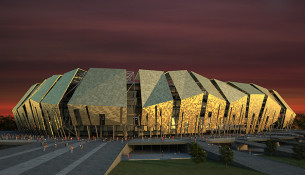 Kuban FC Stadium Krasnodar por AFL Architects