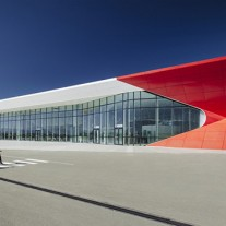 aeropuerto internacional de kutaisi por UNStudio