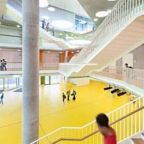 escuela secundaria ergolding por behnisch architekten