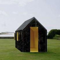 chameleon cabin cabaña camaelon por white arkitekter
