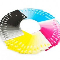 cmyk cards por hundred million