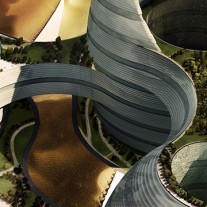organic cities por luca curci architects