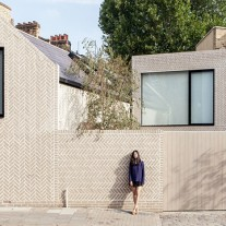 herringbone house por atelier chanchan