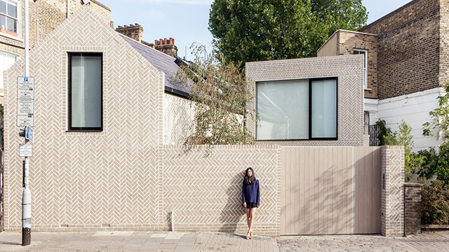 herringbone house por atelier chanchan