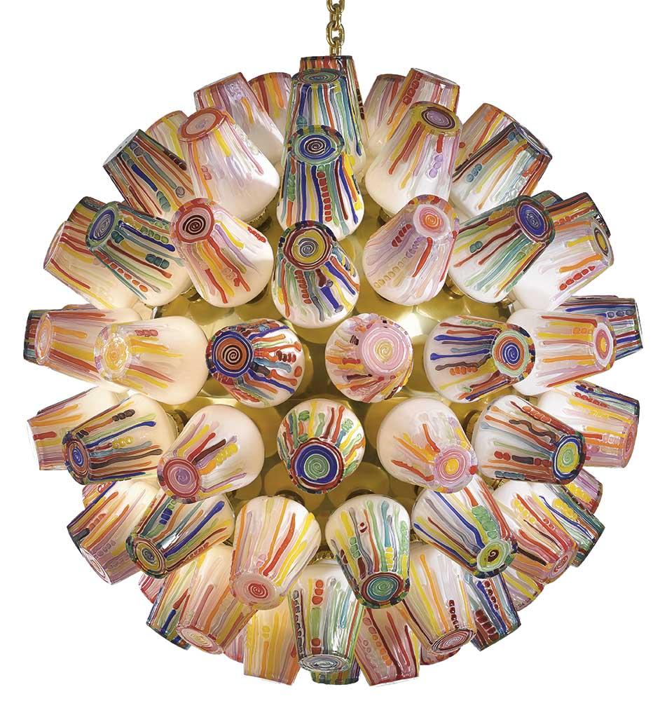 Sphere chandelier1 Campana