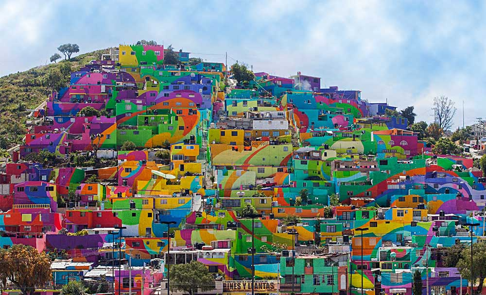 Mexico Painting the Town