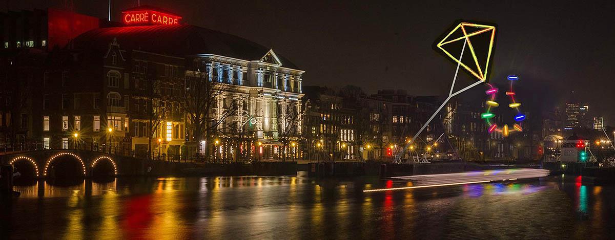 Ámsterdam Light Festival 3