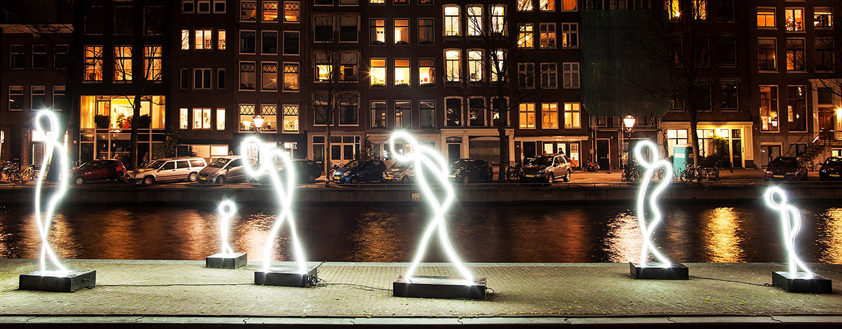 Ámsterdam Light Festival 2