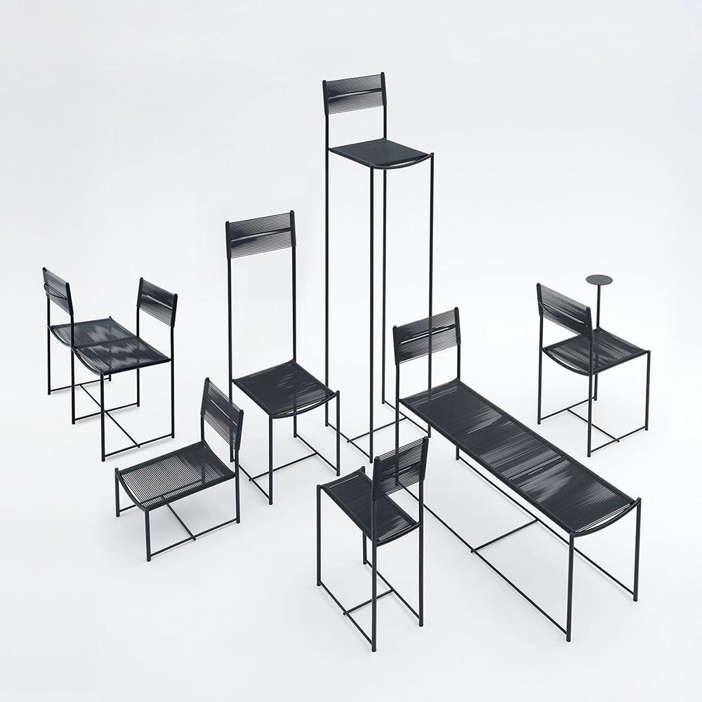 Spaghetti Chair de Alias por Alfredo Häberli