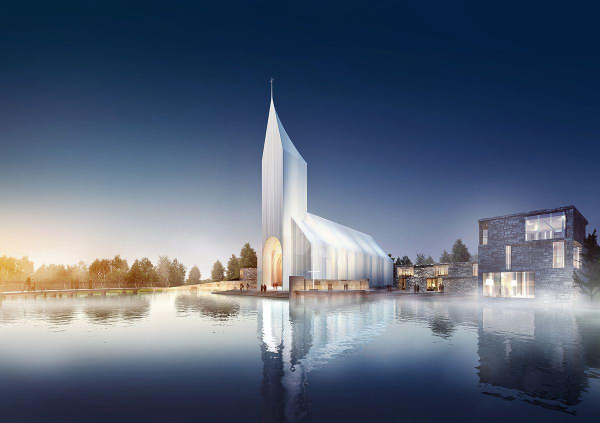 Iglesia Zhangjiagang por el estudio alemán RSAA
