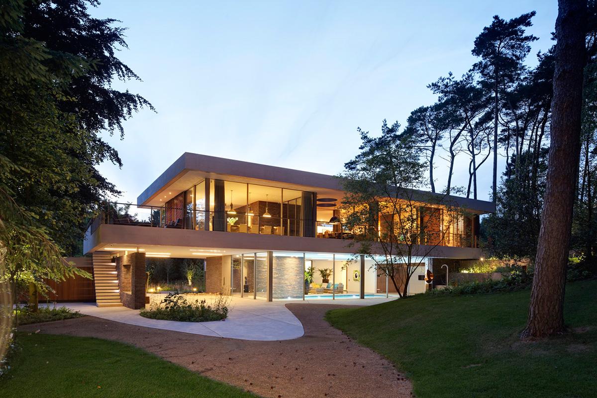 Dune Villa por Hilberink Bosch Architecten