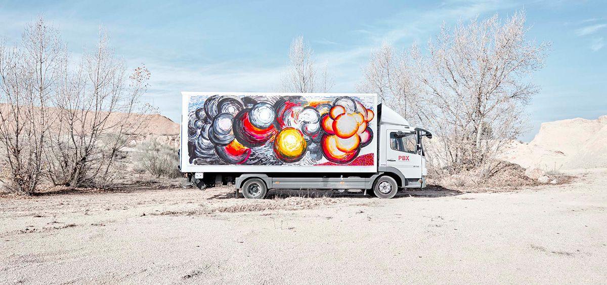 Abraham Lacalle para Truck Art Project