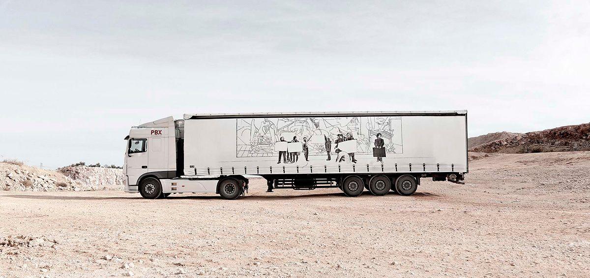 Javier Arce para Truck Art Project
