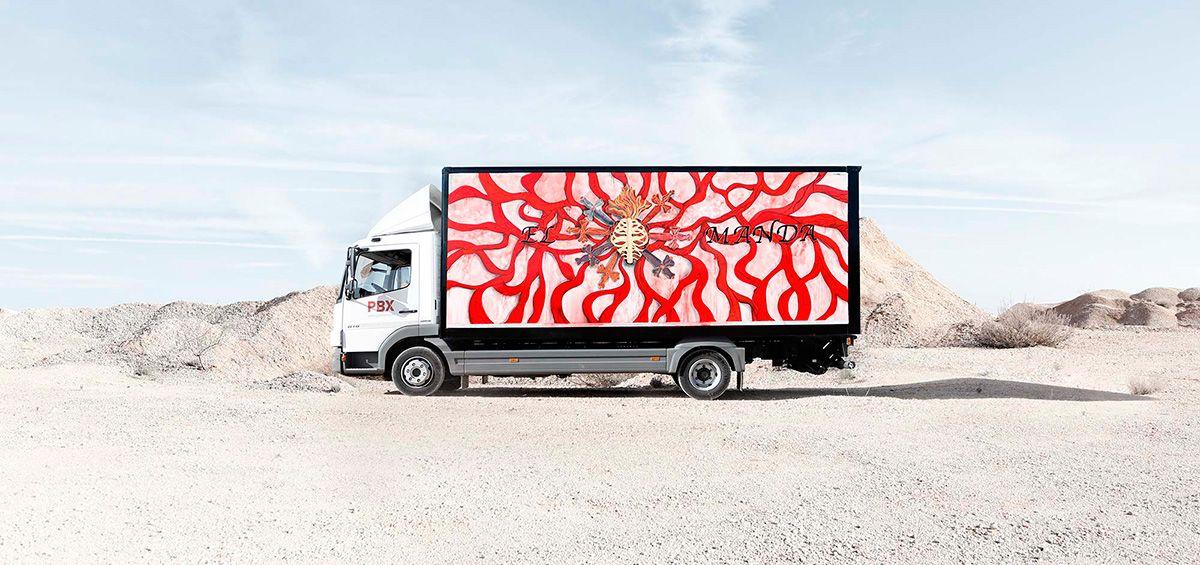 Marina Vargas para Truck Art Project