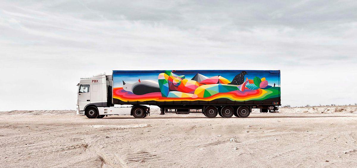 Okuda San Miguel para Truck Art Project