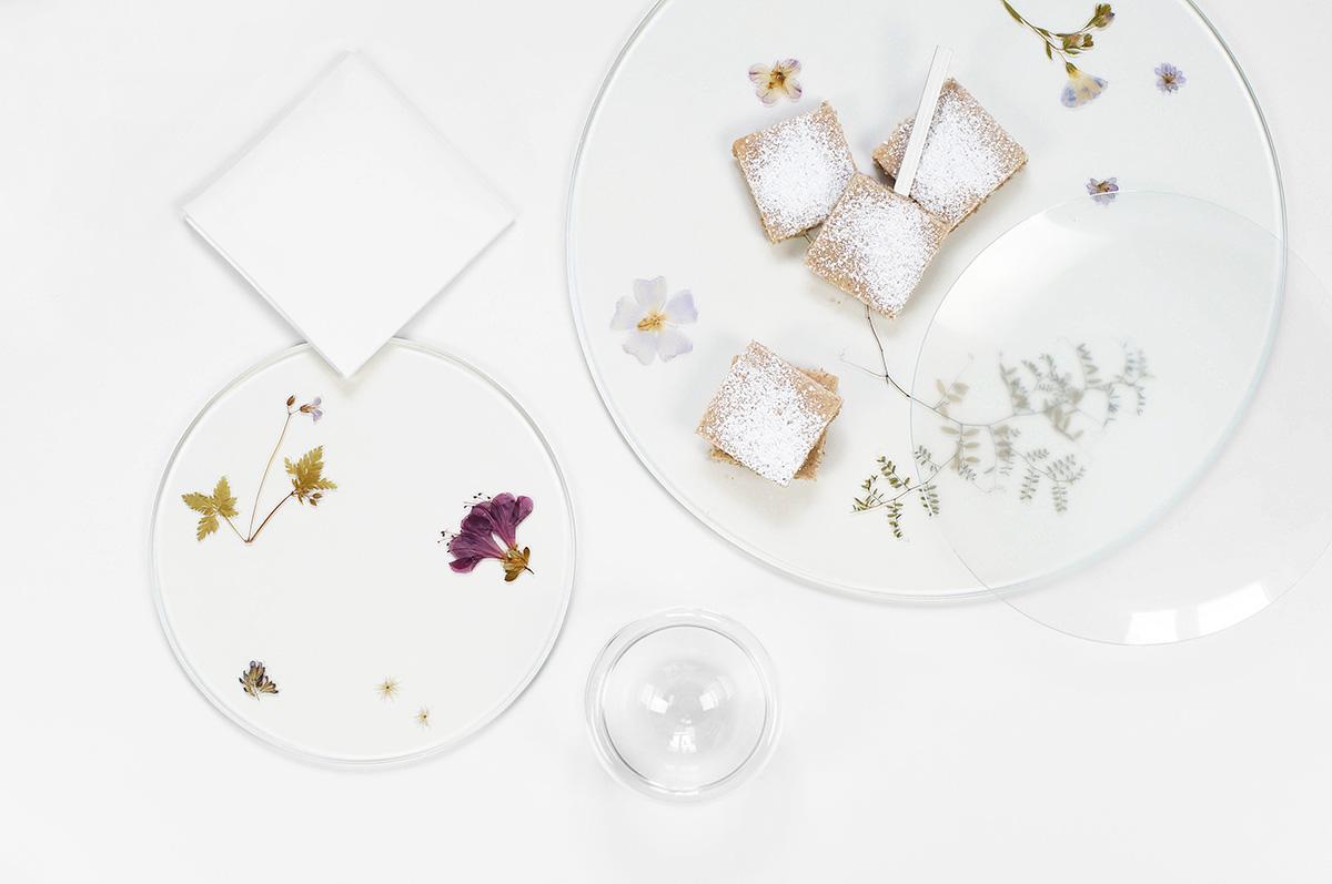 Evergreen Platters por Meike Harde