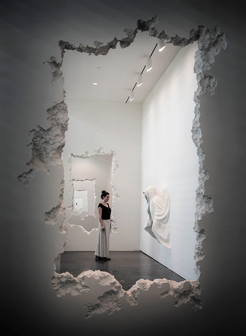 The Future Was Then por Daniel Arsham