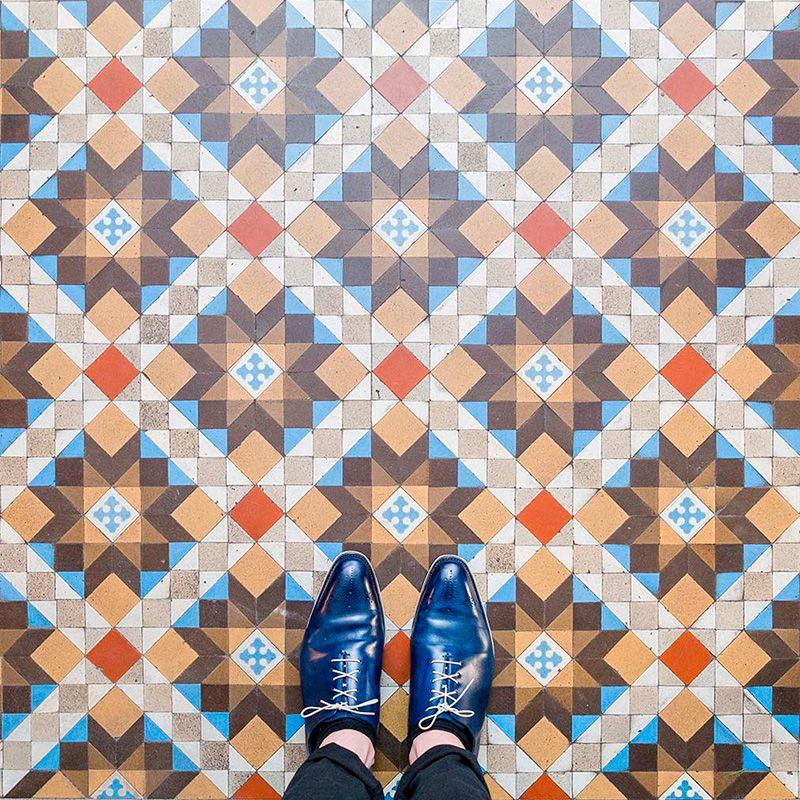 Barcelona Floors por Sebastian Erras