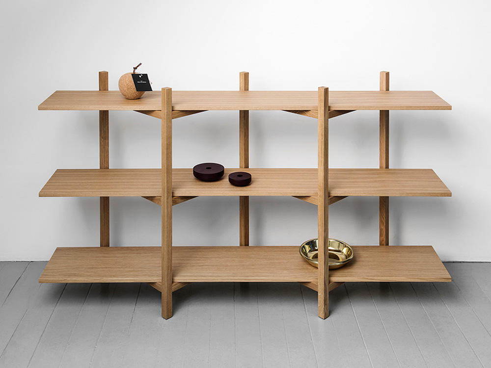Zig-Zag Shelf por Studio deFORM