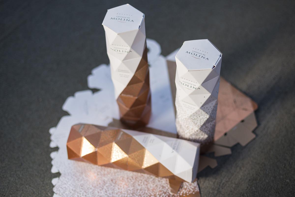 Categoría: Diseño de Packaging Ganador: Packaging Castillo de Molina Diseñadores: Oficina Non