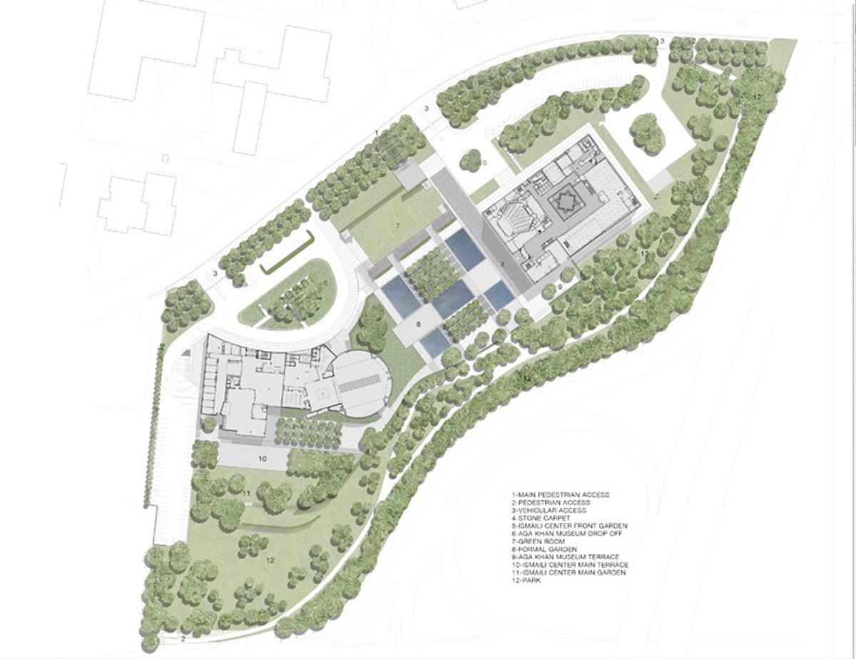 Ambientes 06 aga khan park van dyke landscape architects for Van dyke landscape architects