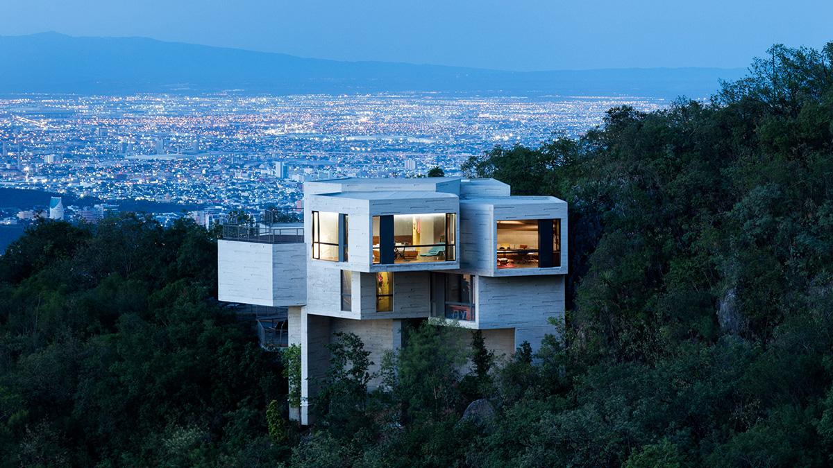 Ambientes casa ventura por la arquitecta mexicana - Casa en bilbao ...