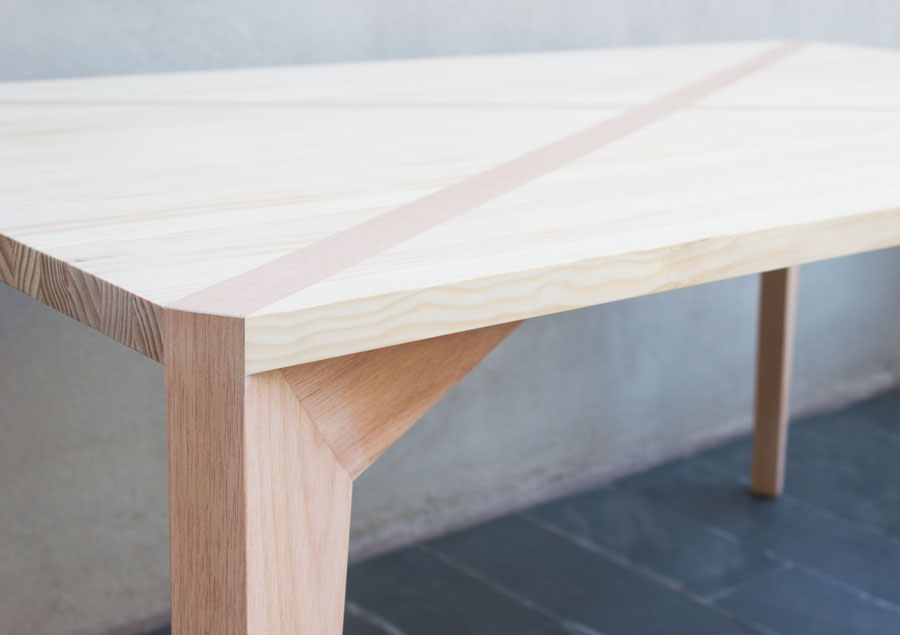 Ambientes 06 stgo diseno 1 10 muebles mesa comedor m40 - Muebles madera de pino ...