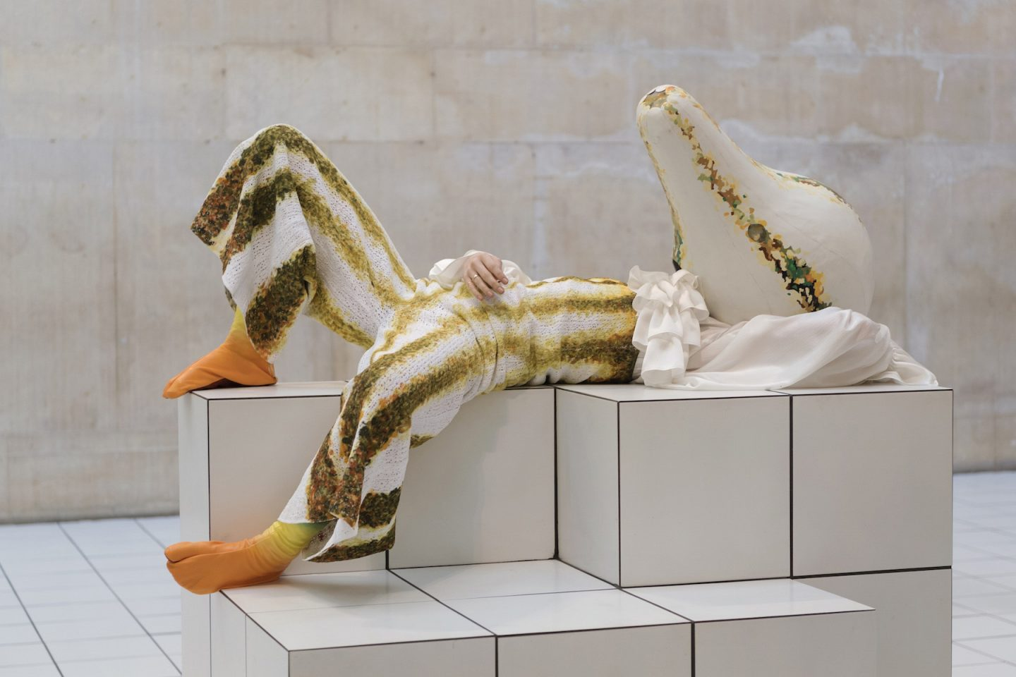 The Squash por Anthea Hamilton