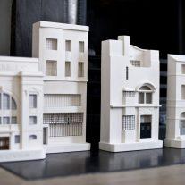 Chisel & Mouse escultura urbana