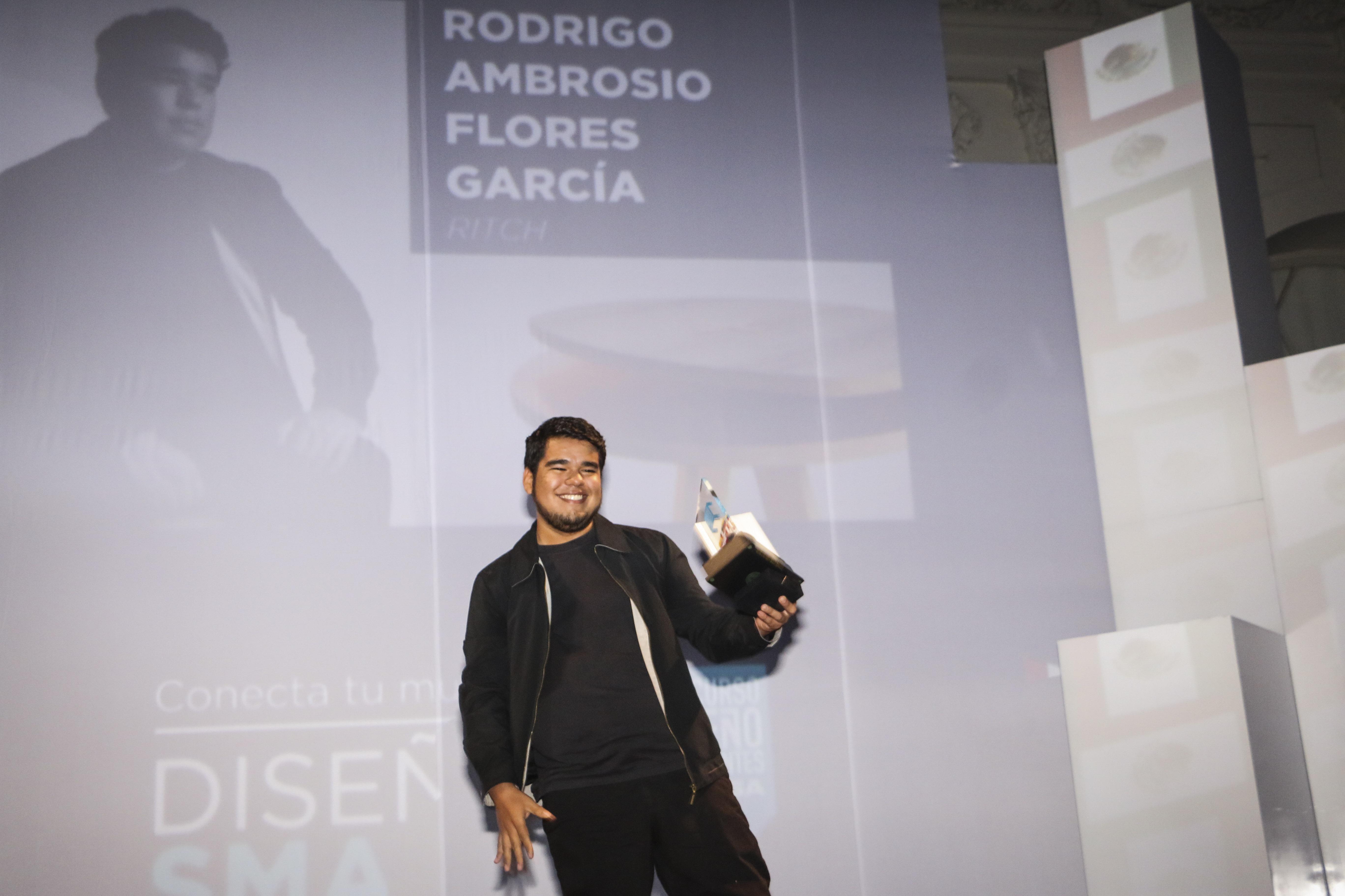 """""""Ritch"""" proyecto de Rodrigo Ambrosio Flores García fue el ganador de la versión 2016."""