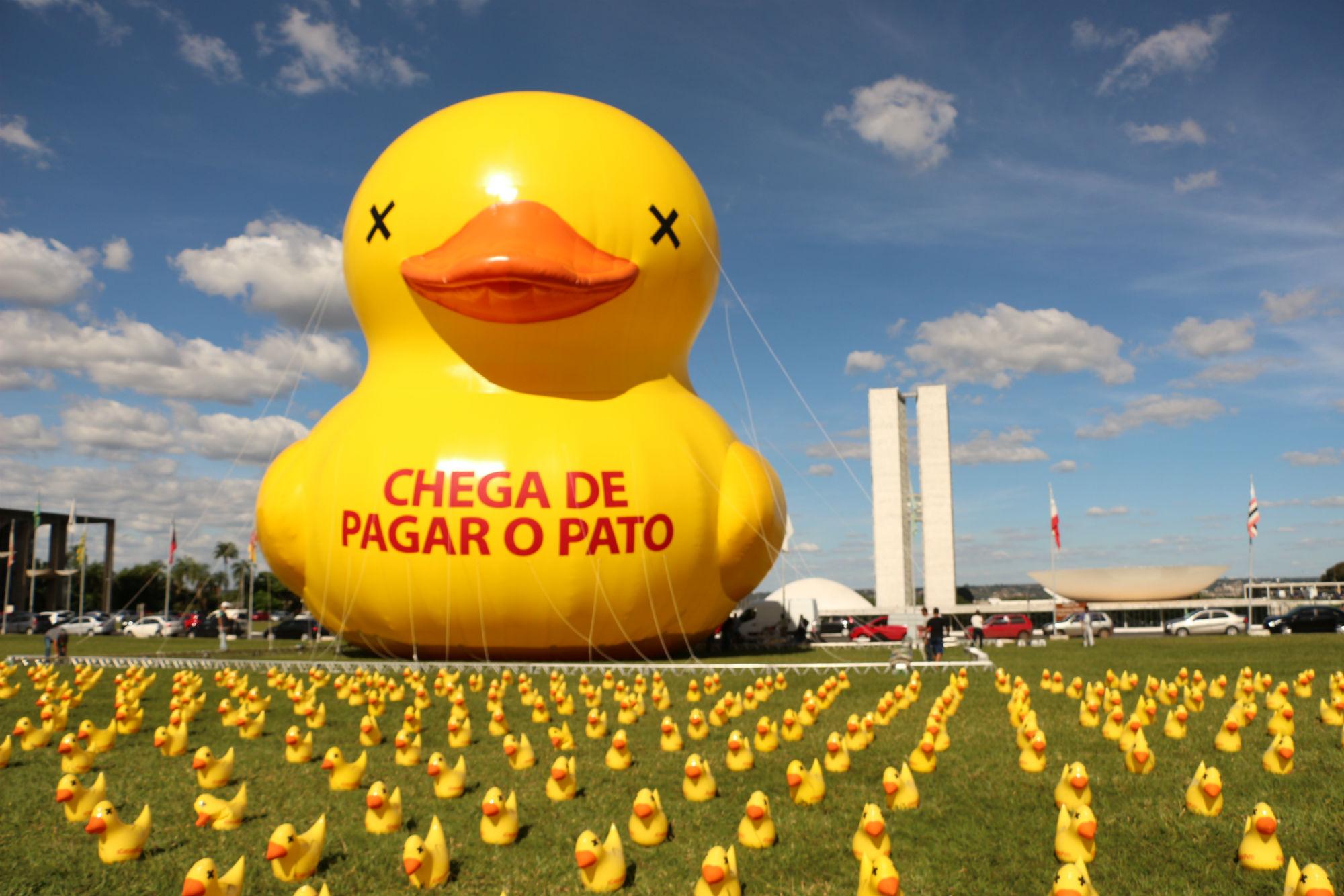 Protest in Brazil- credit Charles Albert Sholl