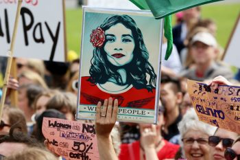 Women's March Wellington NZ credit Andy McArthur