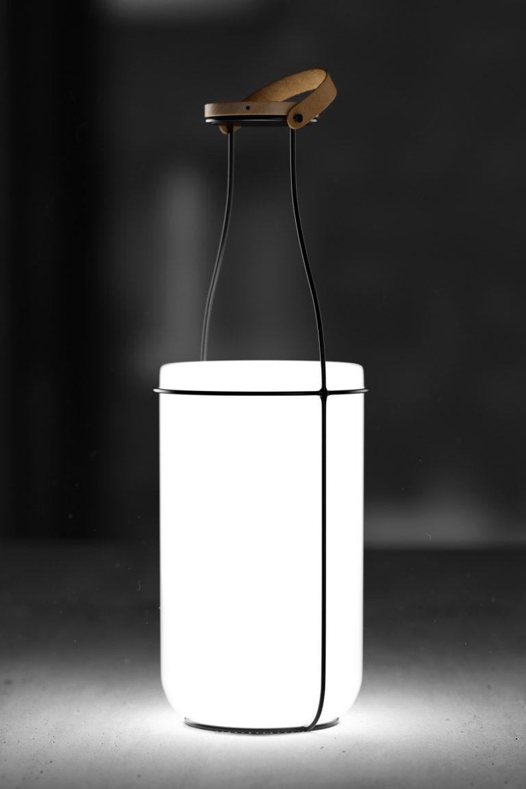 Lámpara MU por Constantin Bolimond