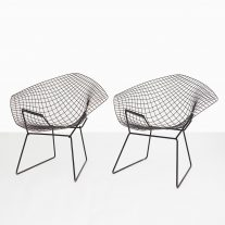 Silla Diamond por Harry Bertoia