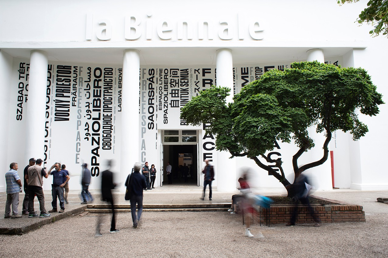 BIENNALE ARCHITETTURA 2018 16TH INTERNATIONAL ARCHITECTURE EXHIBITION FREESPACE Curator: Yvonne Farrell + Shelley McNamara