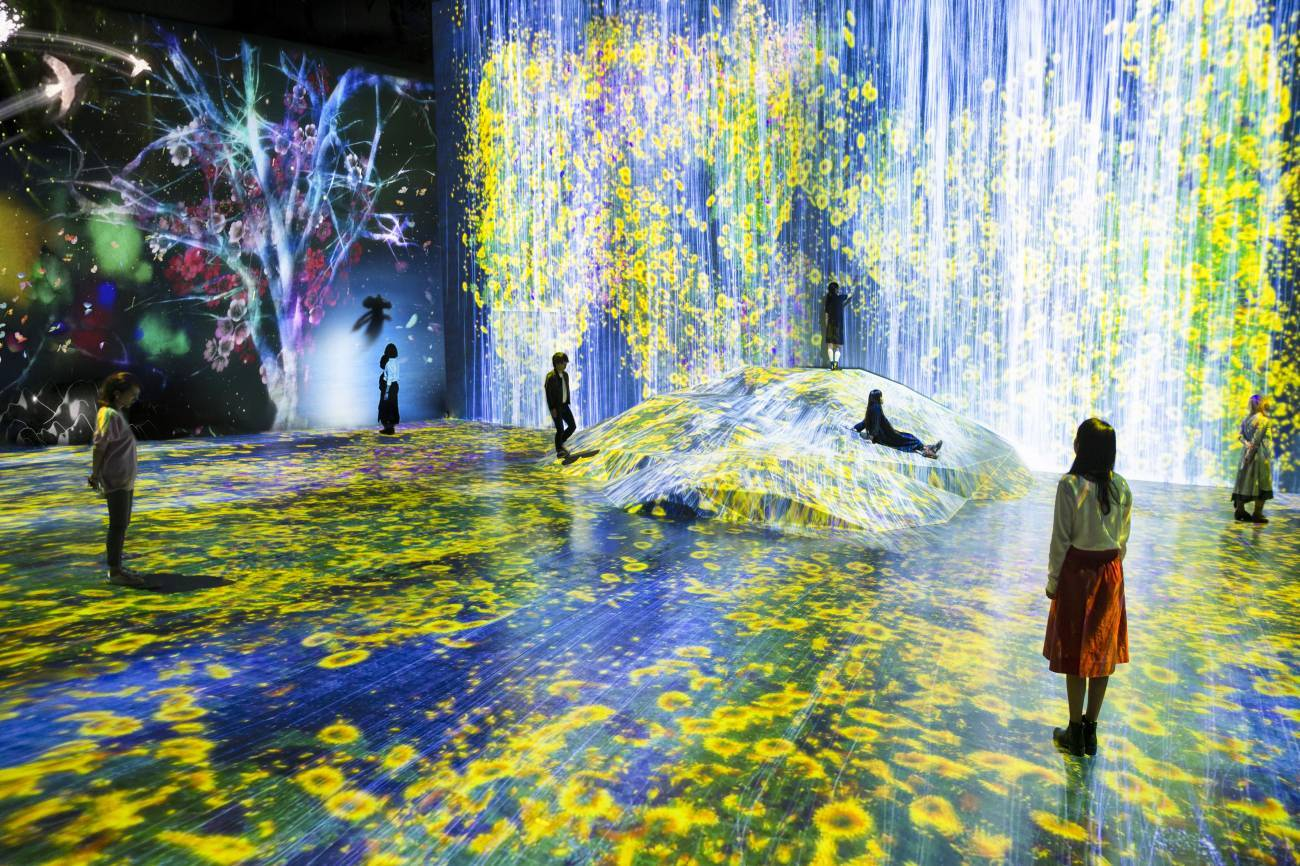 """Borderless» por Teamlab"