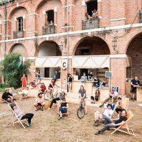 29.05.2018. Caserne PEPE. Le Lido, Venise. Lieu investi par des collectifs.