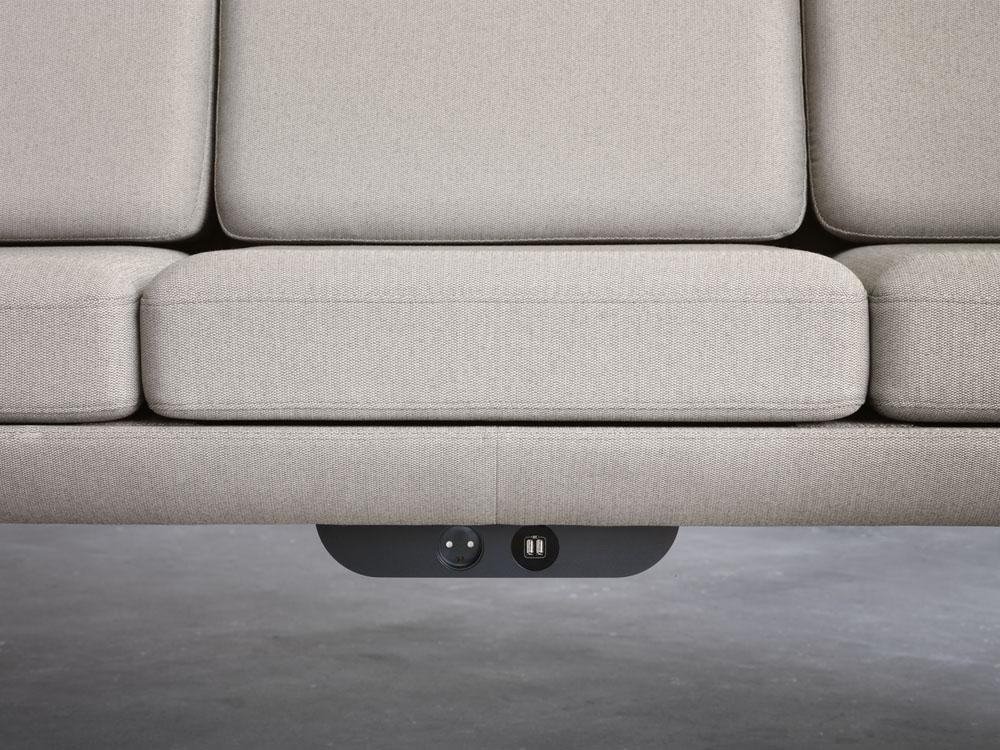 10537_Plenum - Black Power unit for sofa