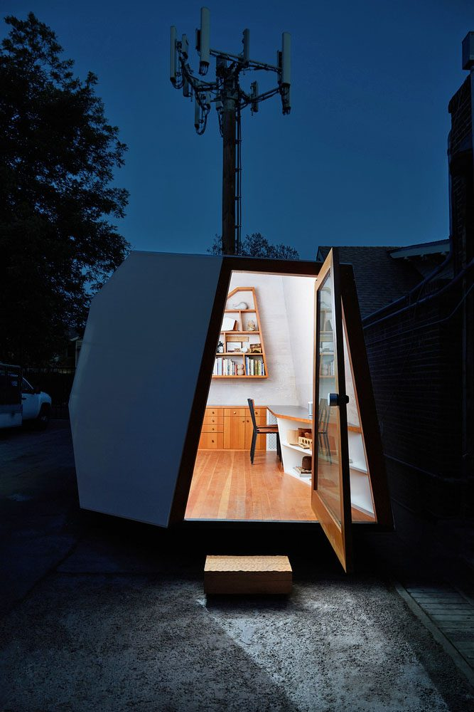 Knowhow Shop Office Pod photographed by Stephen Schauer