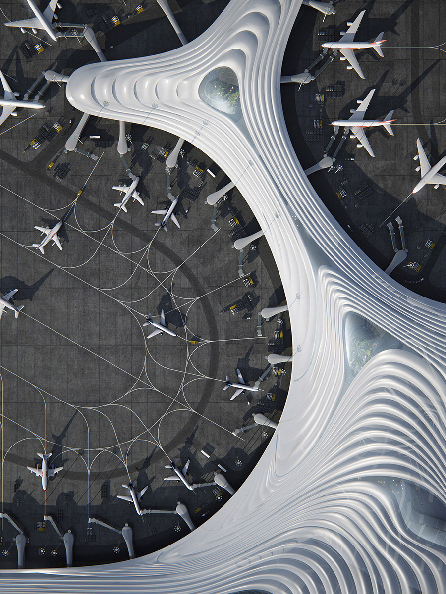 Harbin-Airport-T3-MAD-Architects-04