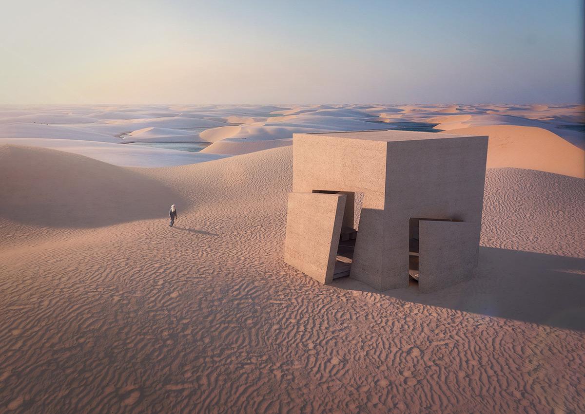 Sesame por Christophe Benichou Architecture