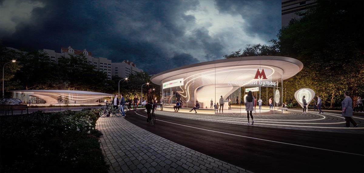 ZHA_Moscow-Metro-Station_Pavilion
