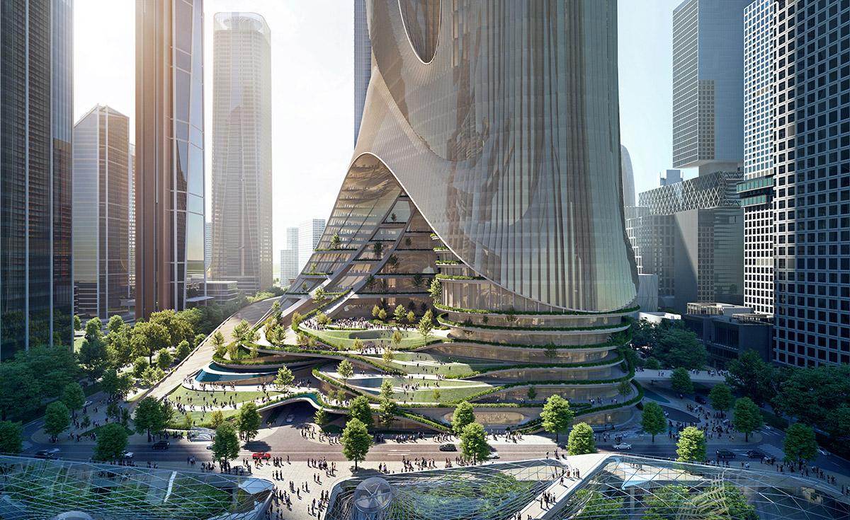 01_ZHA_ Shenzhen Tower C