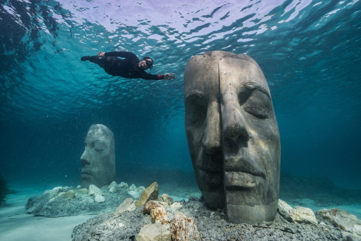 The underwater Museum por Jason Decaires Taylor